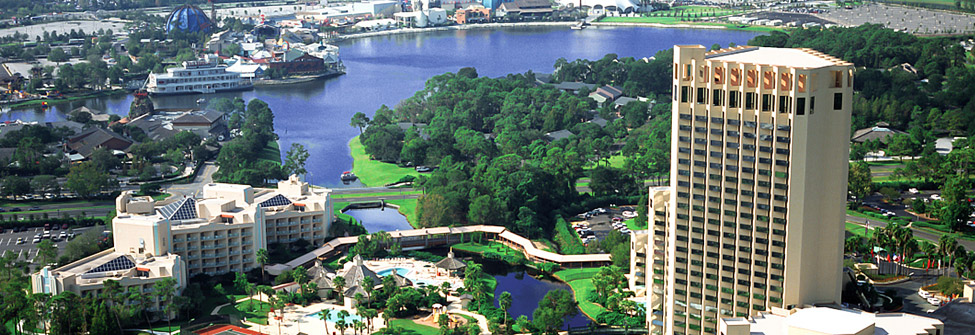 lake buena vista aerial view