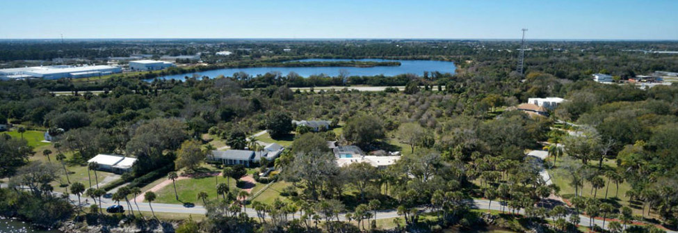 Rockledge aerial view
