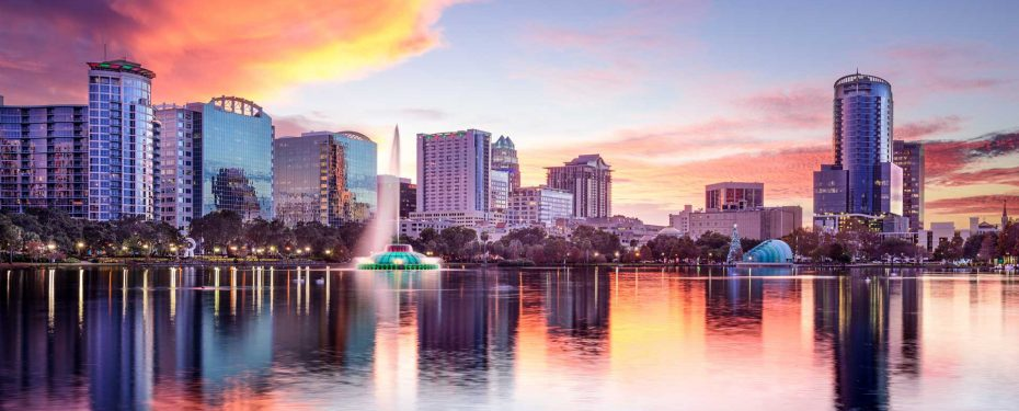 Orlando City Skyline