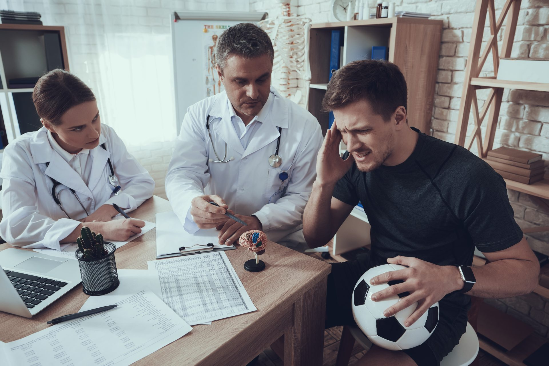 Filing a Personal Injury Claim for a Sports Concussion